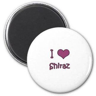 I Love Shiraz Refrigerator Magnet