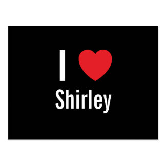 I love Shirley Post Cards