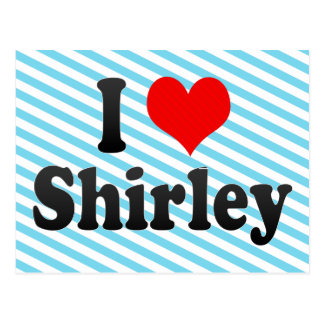 I Love Shirley, United States Postcards