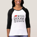 I love shoes booze and boys with tattoos T-Shirt