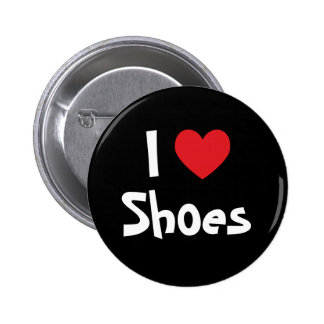 I Love Shoes Pinback Buttons