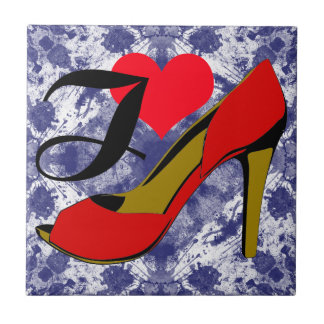 I love shoes/I loves shoes Ceramic Tile