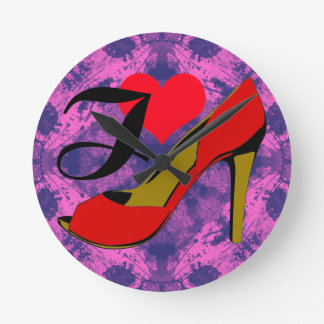 I love shoes/I loves shoes Wallclock