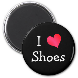 I Love Shoes Refrigerator Magnets