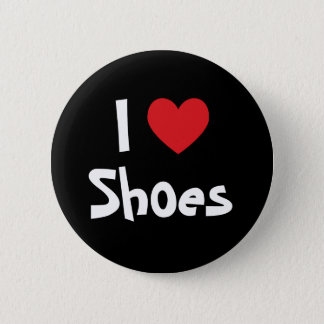 I Love Shoes Pinback Button