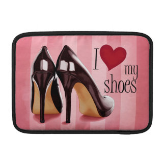 I love shoes sleeve for MacBook air