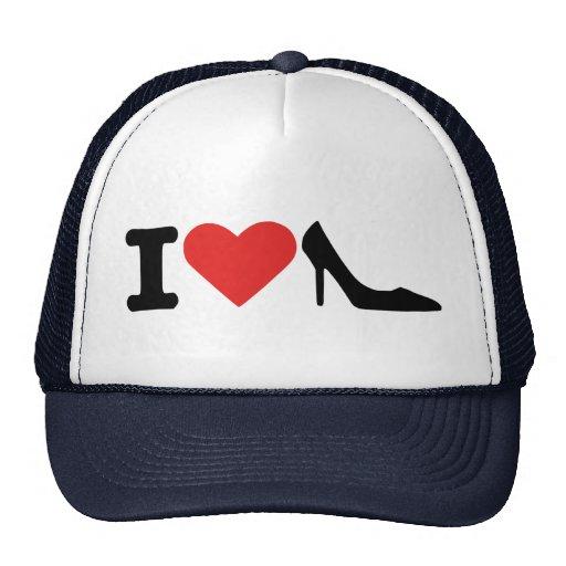 I love shoes trucker hat