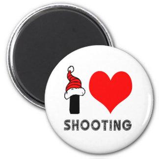 I Love Shooting Design Fridge Magnets