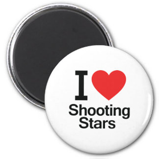 I Love Shooting Stars Magnets