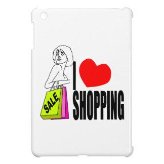 I Love Shopping iPad Mini Case