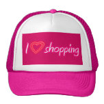 I love shopping pink hat