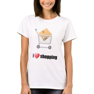 I Love Shopping Shirt shirt