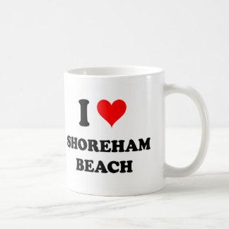 I Love Shoreham Beach New York Classic White Coffee Mug