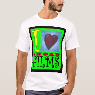 I Love Short Films T-Shirt
