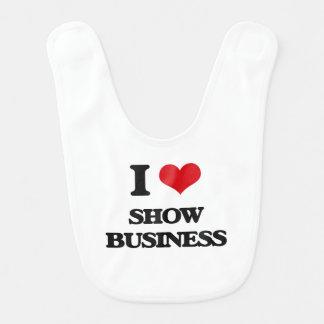 I Love Show Business Bib