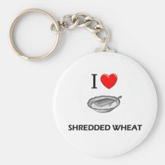 I Love Shredded Wheat Key Chain
