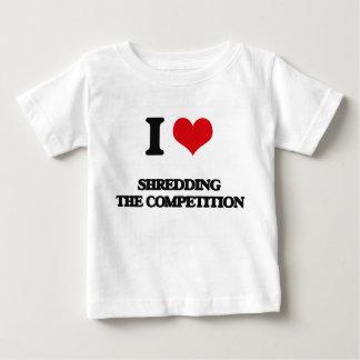 I Love Shredding The Competition T Shirts