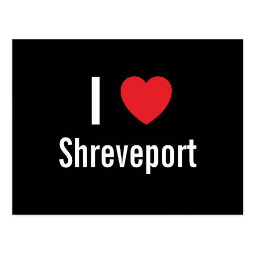 I love Shreveport Postcard