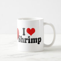 I Love Shrimp Coffee Mug