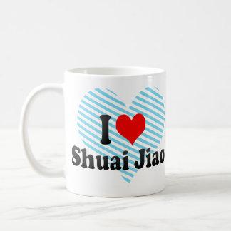 I love Shuai Jiao Classic White Coffee Mug