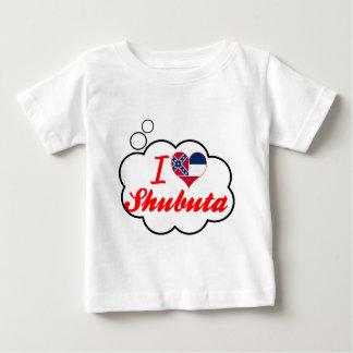 I Love Shubuta, Mississippi Baby T-Shirt