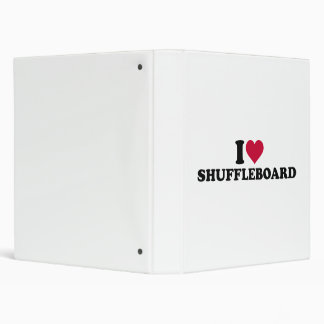I love Shuffleboard 3 Ring Binder