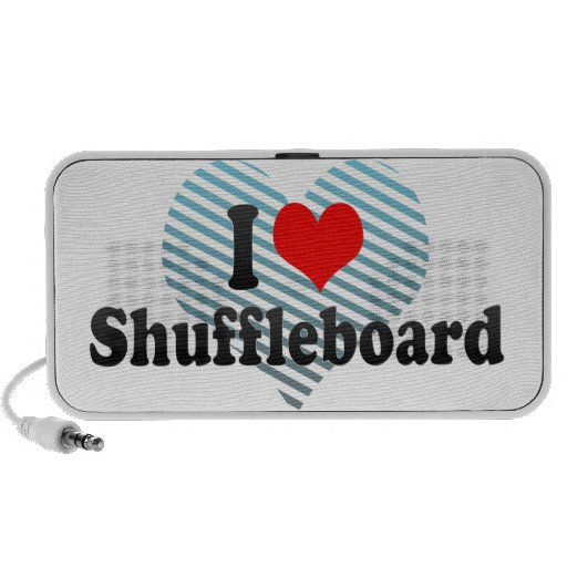 I love Shuffleboard Mini Speakers