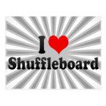 I love Shuffleboard Post Cards