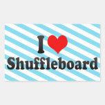 I love Shuffleboard Sticker
