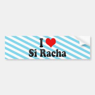 I Love Si Racha, Thailand Car Bumper Sticker