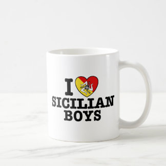I Love Sicilian Boys Coffee Mug