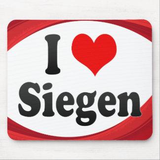I Love Siegen Germany Ich Liebe Siegen Germany Mousepads