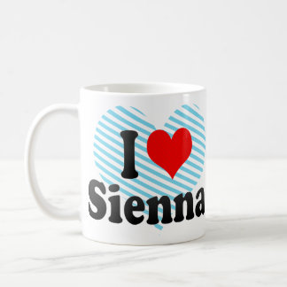 I love Sienna Coffee Mug