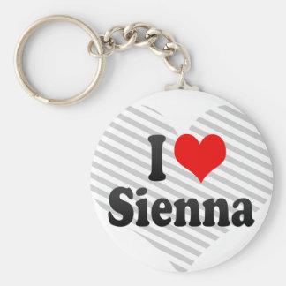 I love Sienna Key Chain