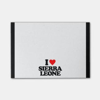 I LOVE SIERRA LEONE POST-IT® NOTES