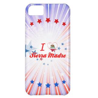 I Love Sierra Madre, California Case For iPhone 5C