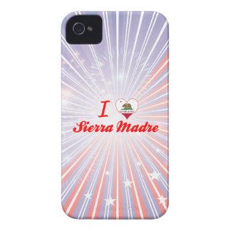 I Love Sierra Madre, California iPhone 4 Case-Mate Cases