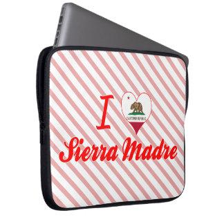 I Love Sierra Madre, California Computer Sleeves