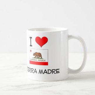 I Love SIERRA MADRE California Mugs