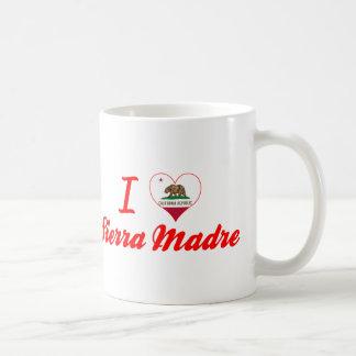 I Love Sierra Madre, California Mugs