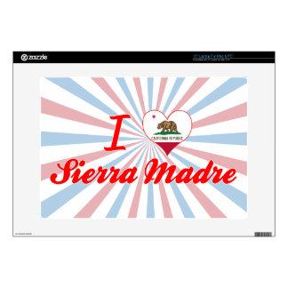 """I Love Sierra Madre, California Skins For 15"""" Laptops"""