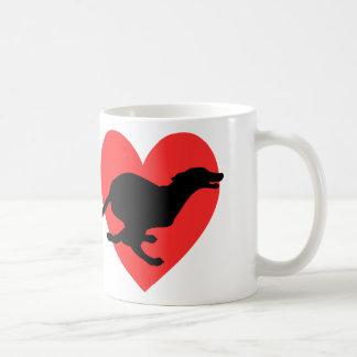 I Love Sighthounds Coffee Mug