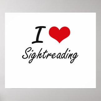 I Love Sightreading Poster