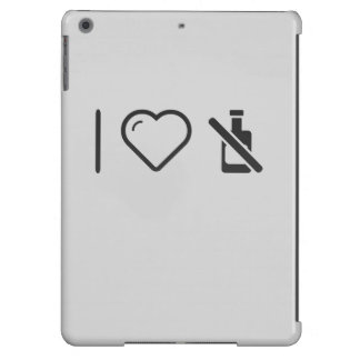 I Love Signboards iPad Air Cover