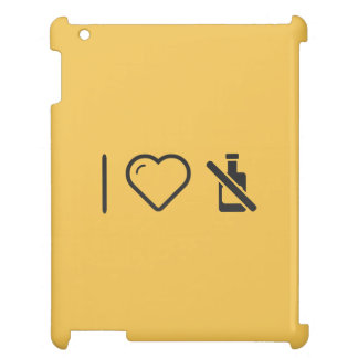 I Love Signboards iPad Cover