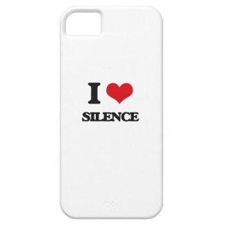 I Love Silence iPhone 5 Case
