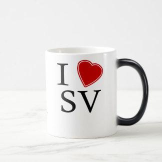 I Love Silicon Valley Magic Mug
