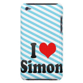 I love Simon iPod Touch Case-Mate Case