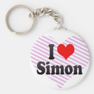 I love Simon Key Chains