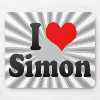I love Simon Mouse Pad